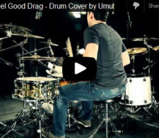 Anberlin – Feel Good Drag – Drum Cover